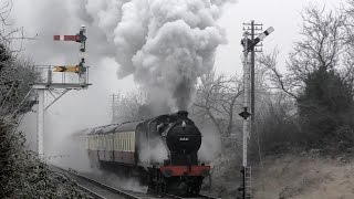 getlinkyoutube.com-Great Central Railway - Winter Steam Gala - 2017