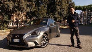 Lexus IS Hybrid | l'ibrida bella da vedere e comoda da guidare