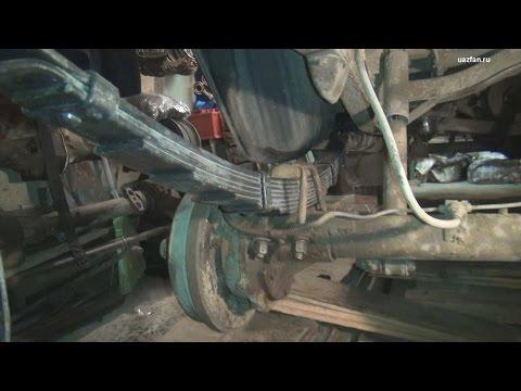 Будни Замена задних рессор на 9 листовые (в гаражных условиях)