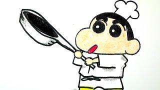 getlinkyoutube.com-How to draw Shin chan 짱구 그리기 #010 cute kawaii かわいい 可愛 Characters 손그림 귀여운 예쁜 캐릭터 그림 그리는 법