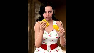 getlinkyoutube.com-Weight Gain Stories - Angel: Thin model to SSBBW