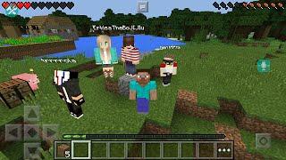 getlinkyoutube.com-Выживание в Пятером Minecraft PE 0.14.0 - 0.15.0 - (2)Путешествие по Шахтам