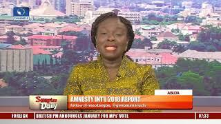 Amnesty International Accuses Nigerian Army Of  Evasion Pt.1 |Sunrise Daily|