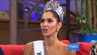 getlinkyoutube.com-Entrevista Miss Universo, Paulina Vega, en Despierta América - Parte 1