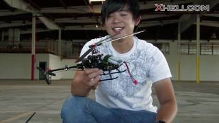 getlinkyoutube.com-New Walkera 4F200 Tri Bladed 3D Helicopter