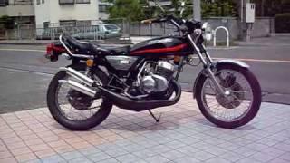 getlinkyoutube.com-KAWASAKI KH250 S1 ケッチ BEET ビート エキスパートチャンバー トリプル