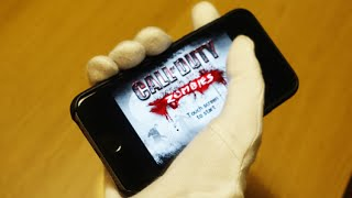 getlinkyoutube.com-CALL OF DUTY ZOMBIES ON IPHONE 6S CHALLENGE!