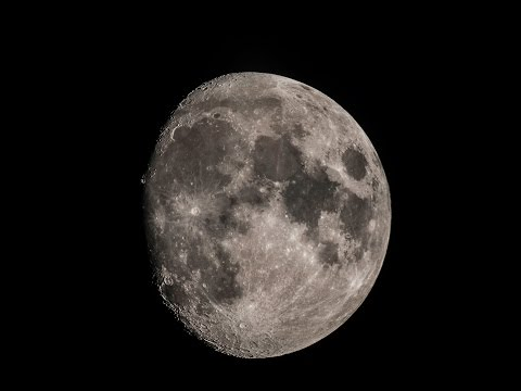 Live Backyard Astronomy: Moon  6th May 2017 Skywatcher 130pds & 10 inch Dobsonian telescope