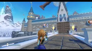 getlinkyoutube.com-Disney Infinity, Frozen Hunt Toy Box Full Walkthrough HD