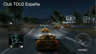 getlinkyoutube.com-Test Drive Unlimited 2 Paseo del Club TDU2 España con el Gumpert Apollo