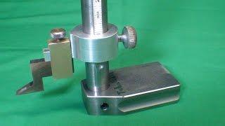 TIPS #376 pt 1 How to Make a Height Gauge tubalcain