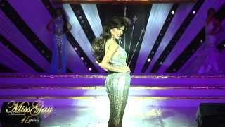 getlinkyoutube.com-PARTE 3: Miss Gay Internacional 2015 - Desfile en traje de Coronación