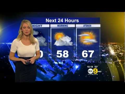 Evelyn Taft 2012/02/24 KCAL9 HD: Tight white top