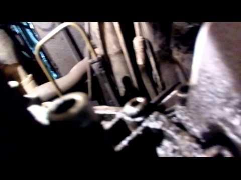 Снятие рабочего цилиндра сцепления passat b5