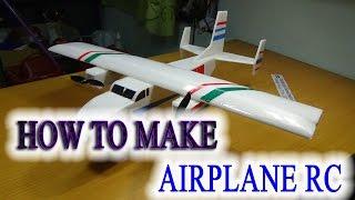 getlinkyoutube.com-How to make a Airplane RC The Twins - Cargo Plane