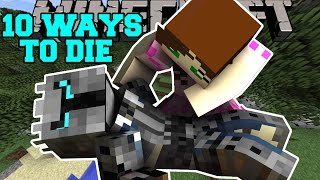 getlinkyoutube.com-Minecraft: MOST INSANE DEATHS! - 10 WAYS TO DIE - Custom Map