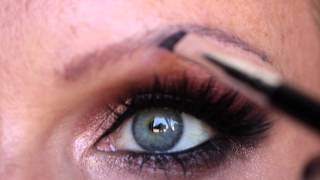 getlinkyoutube.com-Natural Eyebrow Tutorial for People Without Eyebrows | ECCMAKEUPART