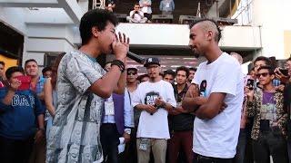 getlinkyoutube.com-Tayahang VS Donsai - Raw Barz   Grand Finale (Off-League Rap Battle)