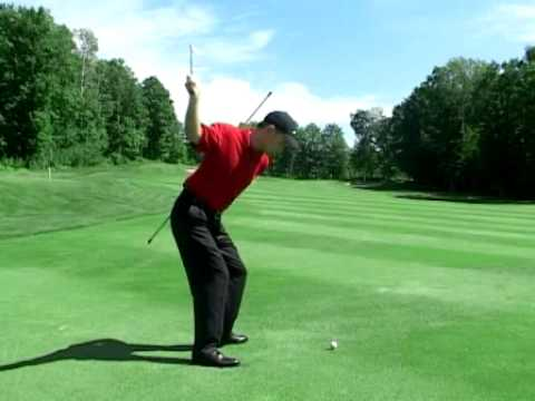 Maintain Your Spine Angle Golf Drill