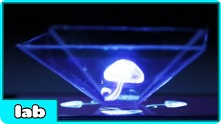 How To Turn Your Smartphone Into A 3D Hologram | Super Cool Science Experiment