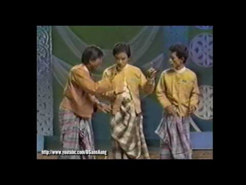 "#008 Zar Ga Nar, Thi Dar Win, and group ""Moe Nut Thu Zar A Nyein"" on Myanmar TV"
