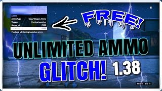"NEW! ""Solo And Easy!"" HOW TO GET UNLIMITED AMMO / FREE AMMO GLITCH IN GTA ONLINE AFTER PATCH 1.38!"