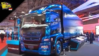getlinkyoutube.com-OTOBLITZ TV - Mitsubishi Fuso Truck and Bus Corporation at Tokyo Motor Show 2015