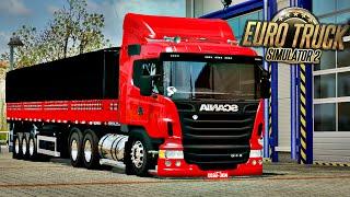 getlinkyoutube.com-Scania R440 Rebaixada - Euro Truck Simulator 2 + Logitech G27