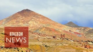 getlinkyoutube.com-'The mountain that eats men' in Bolivia - BBC News