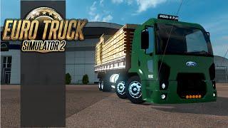getlinkyoutube.com-Euro Truck Simulator 2 - Ford Cargo 1932 Com Vários Acessórios para v1.19