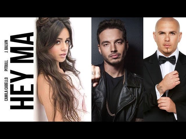 HEY MA - PITBULL FT J BALVIN & CAMILA CABELLO karaoke version ( no vocal ) lyric instrumental