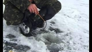 getlinkyoutube.com-Первый лёд и окунь