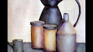 getlinkyoutube.com-Stillleben nach Art von Morandi, Still life á la Morandi