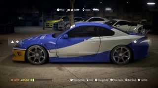 getlinkyoutube.com-Need For Speed 2015: fast and furious Han's Nissan Silvia Tutorial