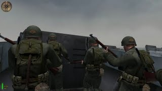 getlinkyoutube.com-Normandy D-Day Medal of Honor Allied Assault