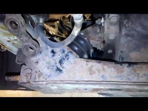 Оторвалась балка на Классике. Восстанавливаем и усиливаем крепление передней балки жигулей.