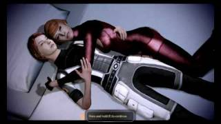 getlinkyoutube.com-Mass effect 2: Female Shepard and Kelly Chambers together