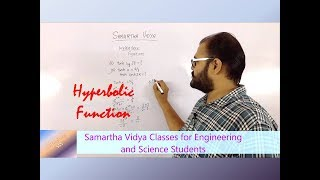 What are hyperbolic functions???