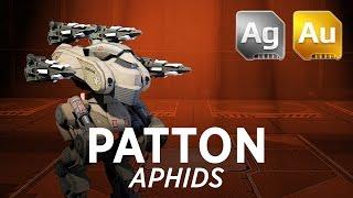 getlinkyoutube.com-Walking War Robots Patton Gameplay: Aphids