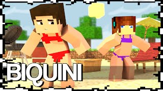getlinkyoutube.com-YOUTUBERS DE BIQUINI - Build Battle