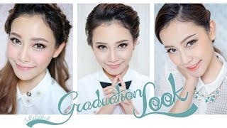 3 Style For Graduation Look แต่งหน้ารับปริญญาด้วยตัวเอง 3 ลุกค์ [JellyJune]