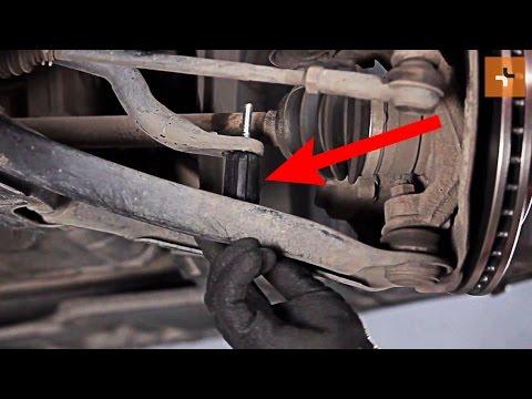 Jak wymienic lacznik stabilizatora przedniego w MITSUBISHI COLT Z30 TUTORIAL | AUTODOC