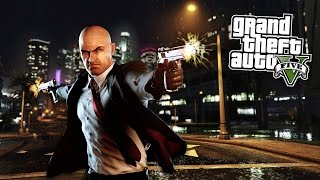 GTA 5 PC Mods - HITMAN: AGENT 47 MOD w/ MISSIONS! GTA 5 Hitman Mod Gameplay! (GTA 5 Mods Gameplay)
