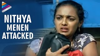 getlinkyoutube.com-Goons trying to rape Nitya Menon - Nithya Movie Scenes - Revathi, Shweta Menon