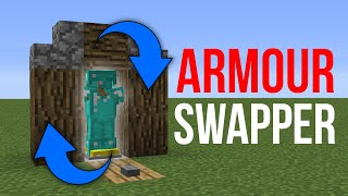 getlinkyoutube.com-Minecraft 1.10: Redstone Tutorial - Armour Stand Swapper v2