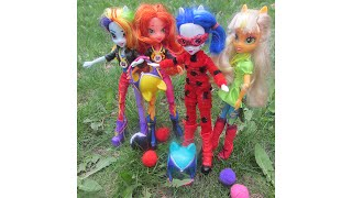 Куклы эквестрия поделки
