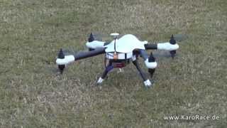 getlinkyoutube.com-Spyder 700 in X8 Sky-Hero Erstflug Germany Multirotor Multicopter