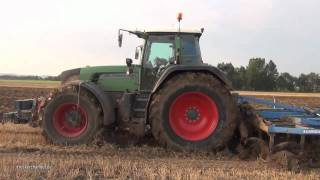 getlinkyoutube.com-Fendt 930 Vario + Lemken Thorit 9