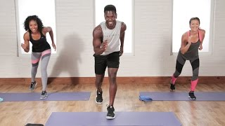 getlinkyoutube.com-Calorie-Torching 30-Minute Cardio and Sculpting Tabata Workout | Class FitSugar