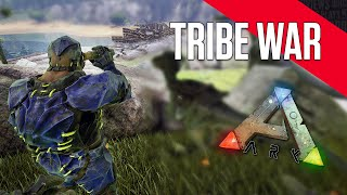 getlinkyoutube.com-ARK: Survival Evolved | TRIBE WAR | ARK Gameplay